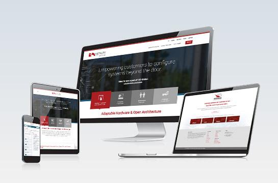 CLIENT: Mercury Security Website & Partner Portal